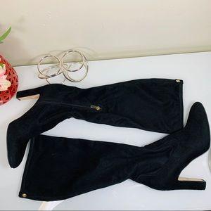 Ivanka Trump brand suede leather dress boots sz10